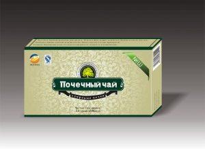 почечный чай в упаковке