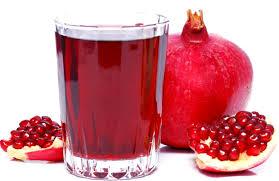 гранатовый сок и плод граната