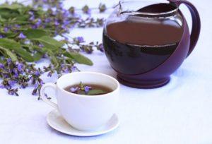 чай с шалфеем от давления