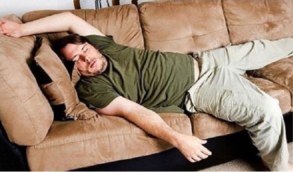 плохая поза для сна