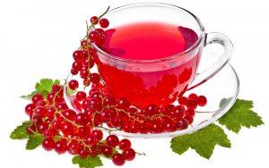 Чай на основе красной смородины