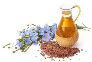 семена, нерафинированное масло и цветки льна