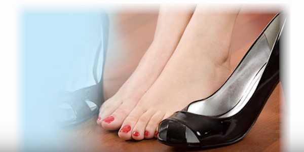 неудобная обувь каблуки