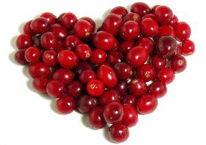 плоды боярышника в виде сердца