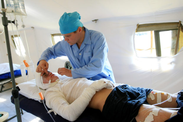 Лечение ожогов 3 степени - производится только в стационаре