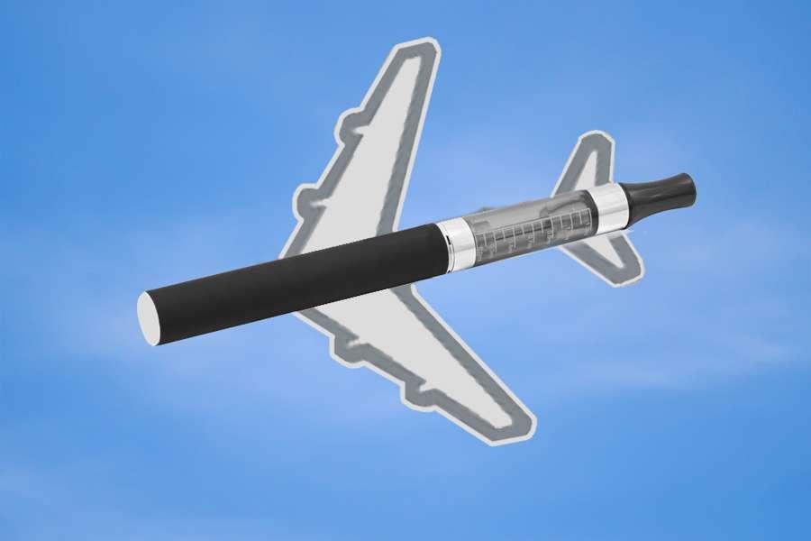 Электронные сигареты в самолете