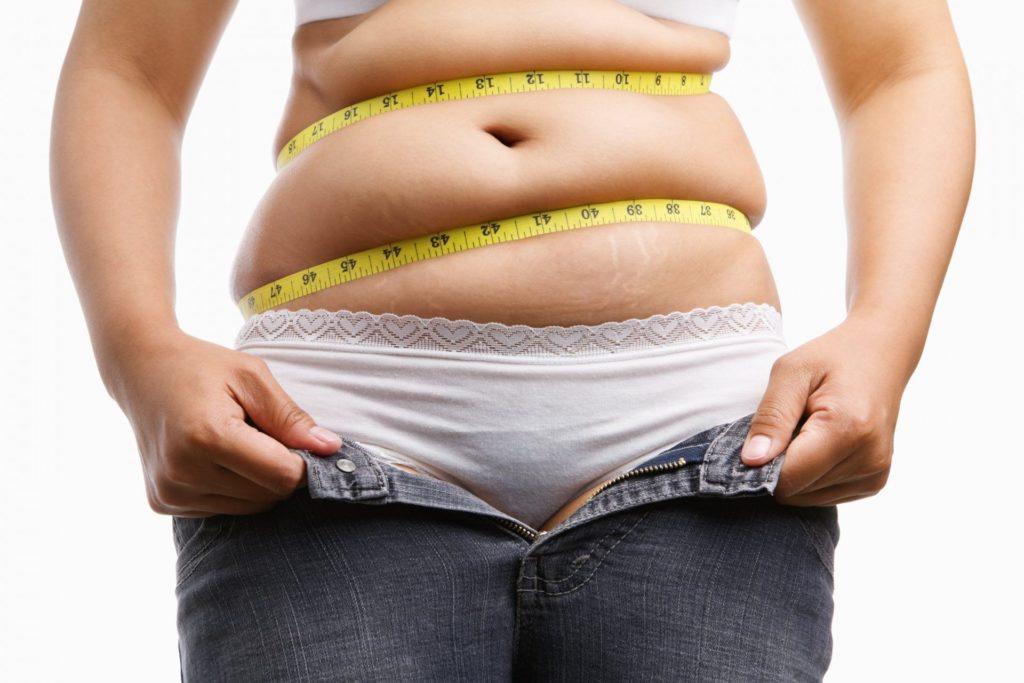 похудение в области талии и живота схема