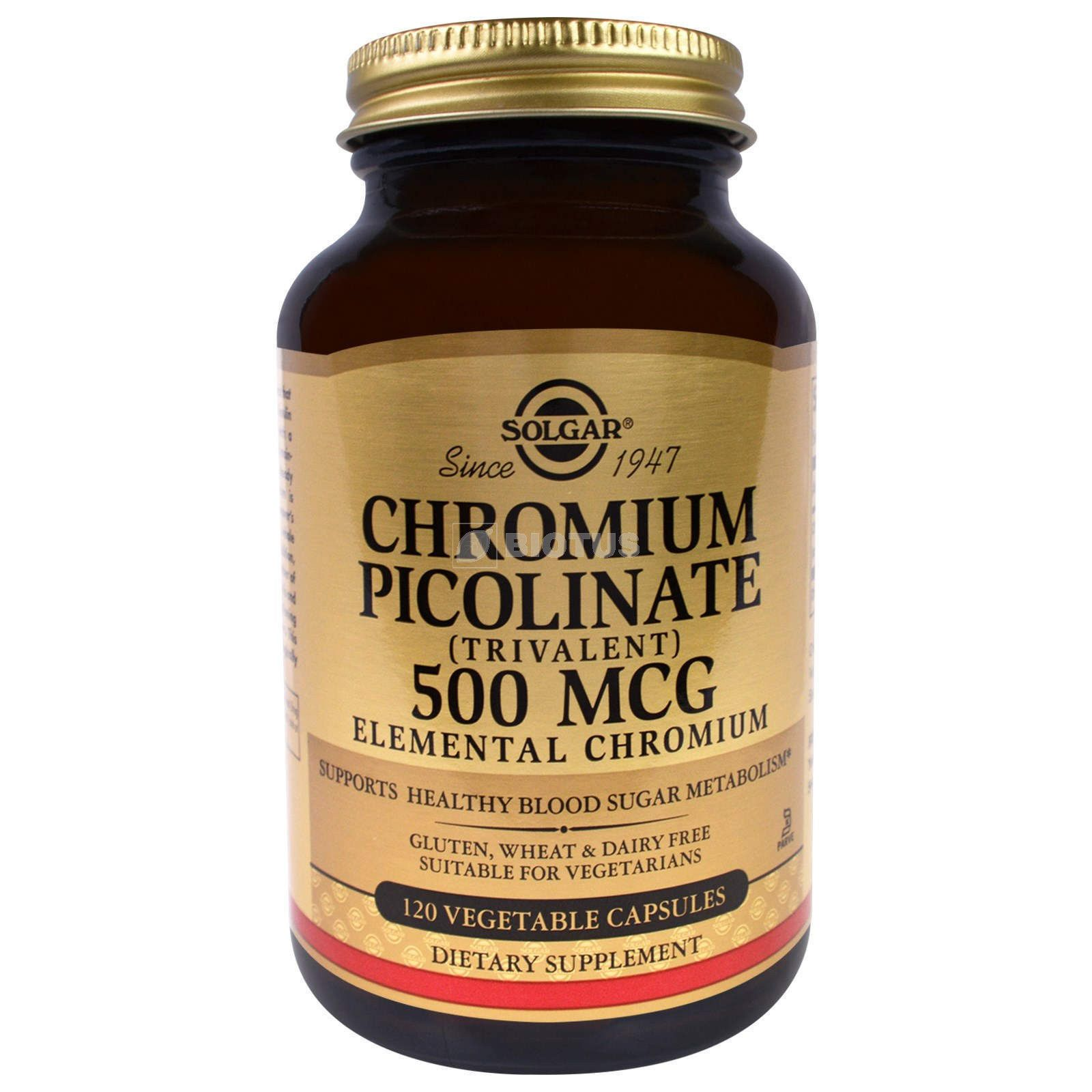 Пиколинат и другие препараты хрома для похудения отзывы