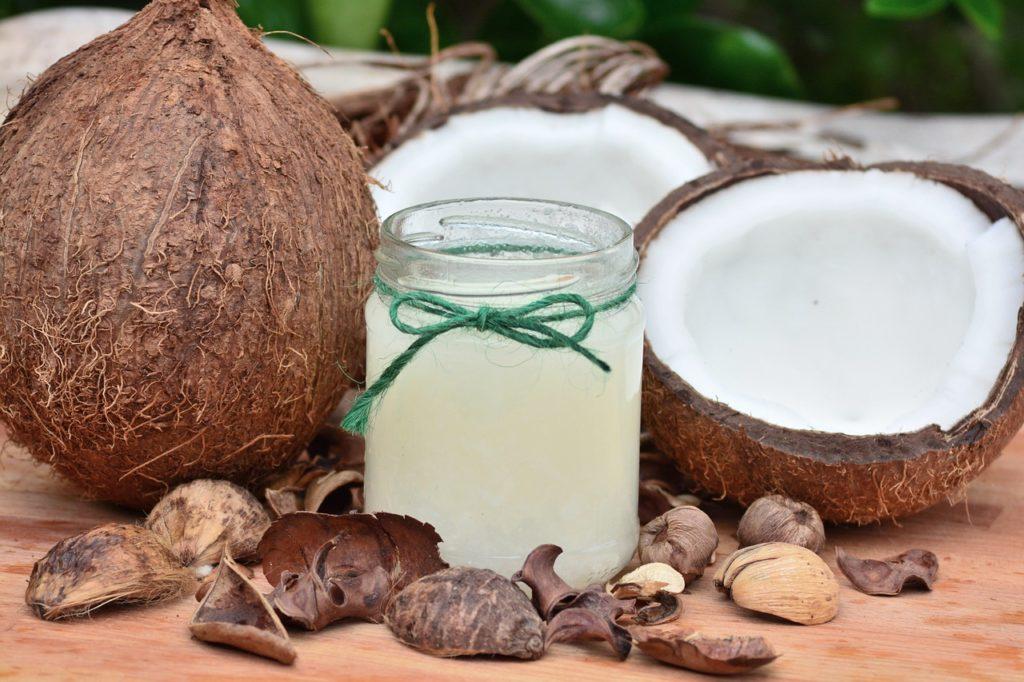 Кокосовое масло от секущихся кончиков
