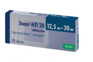 препарат Энап от гипертонии