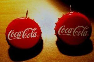 крышечки кока-колы