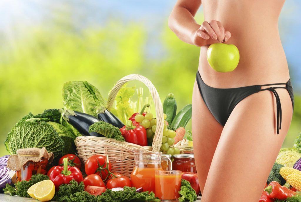 Очищающая диета организма для заметного похудения