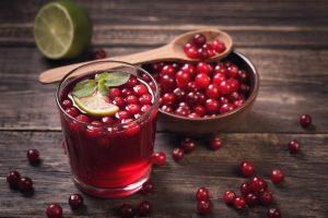 клюквенный сок при повышенном давлении