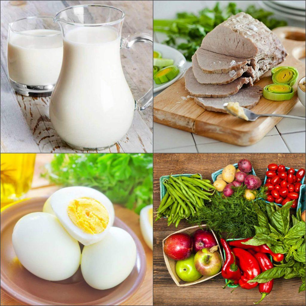 диета день овощи день белки