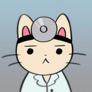 Медицина, доктор, кот, врач, картинка