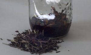 высушенный и измельченный корень пиона для приготовления настойки от давления