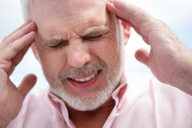 Головная боль при тромбокрите - симптом